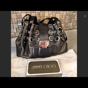 Authentic Jimmy Choo Gold Shimmer
